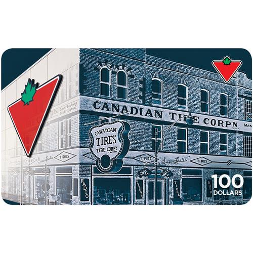 10% off- Canadian Tire $100 Gift Card
