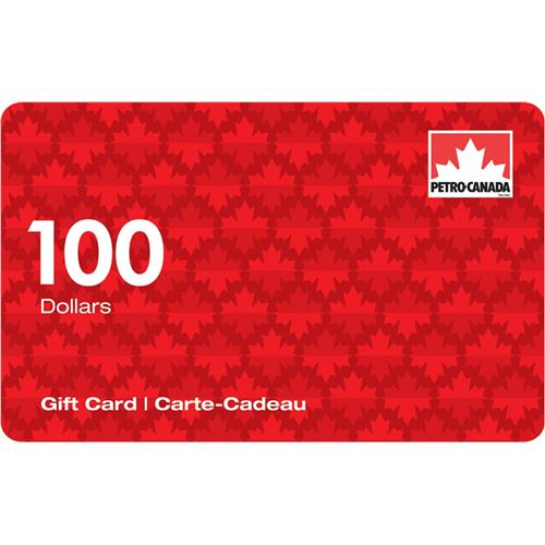 Petro Canada $100 Gift Card 14,000 Points
