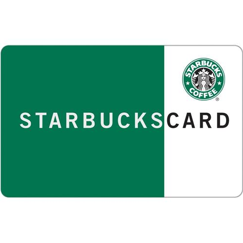 10% off- Starbucks $50 Gift Card
