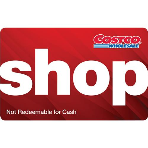 Costco Wholesale $100 Cash Card