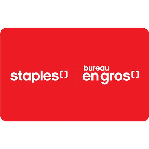 STAPLES® $50 Gift Card 7,000 Points