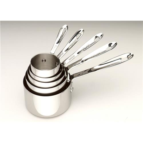 All Clad Stainless Steel Measuring Cup Set