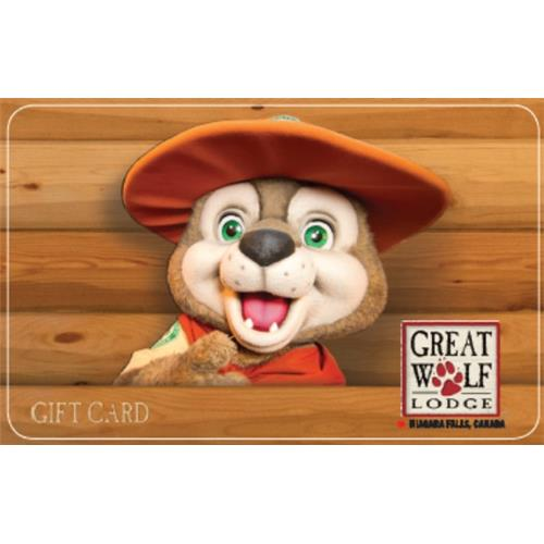 Great Wolf Lodge $100CAD Gift Card