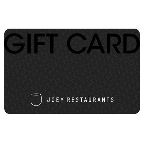 JOEY Restaurants Gift Card $50 CDN