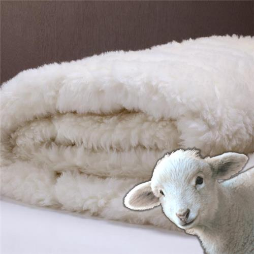 Gainsborough Certified Organic Wool Overlay For All Seasons - Queen Size