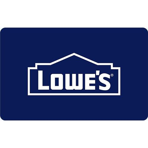 Lowes $100 Gift Card 14,000 Points