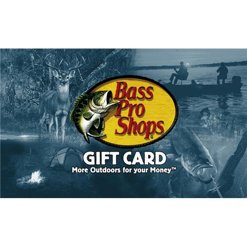 Bass Pro Stores Limited $50 Gift Card