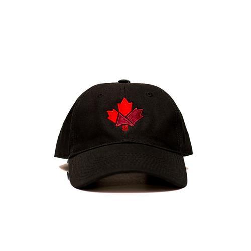 Casquette de baseball Canada 150 de LTF Headwear (noire)