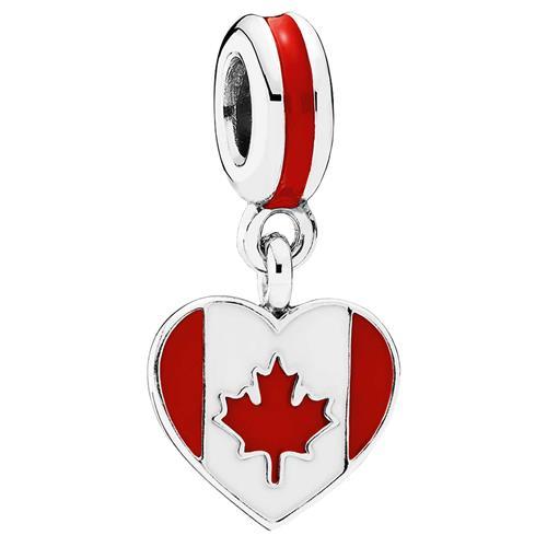 Breloque Cœur du Canada de Pandora