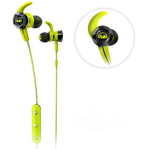 50fcb8e5d7c Monster iSport Victory In-Ear Wireless Bluetooth Headphones – Green