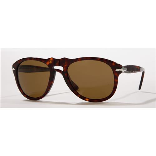 Persol® Suprema Pilot Polarized Havana Sunglasses