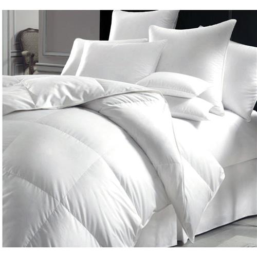 Millano SilverClear T250 Cotton Duvet with Microgel Fill King - White