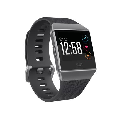 Fitbit Ionic Watch - Charcoal/Smoke Grey