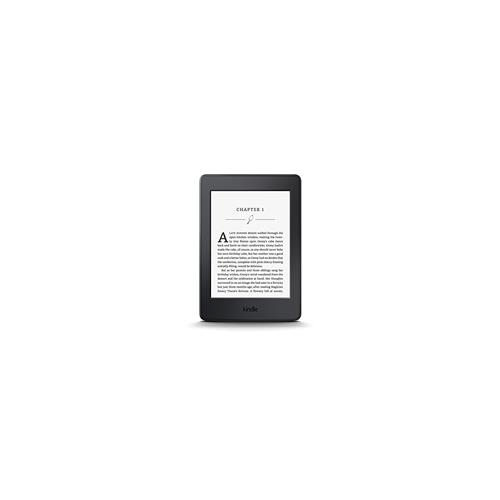Kindle Paperwhite WiFi kit with e-Reader with case & charger - black