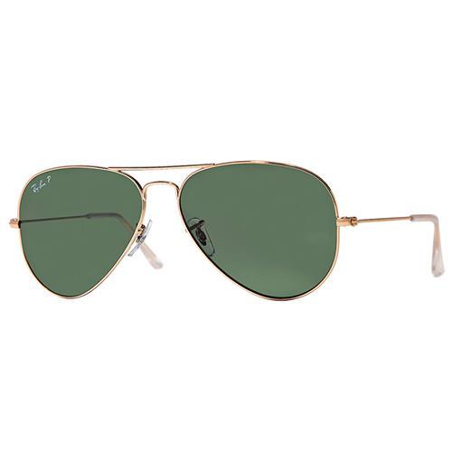 Ray-Ban® Original Aviator Polarized Sunglasses - Gold