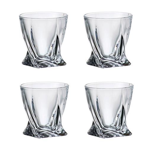 Ensemble de 4 verres DOF Quadro de Trudeau