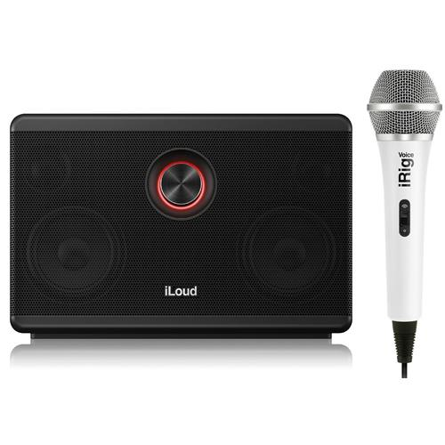 IK Multimedia iLoud Speaker & iRig Karaoke Mic