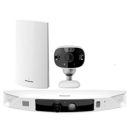 Panasonic HomeHawk™ Smart Home Monitoring System - 2 cameras