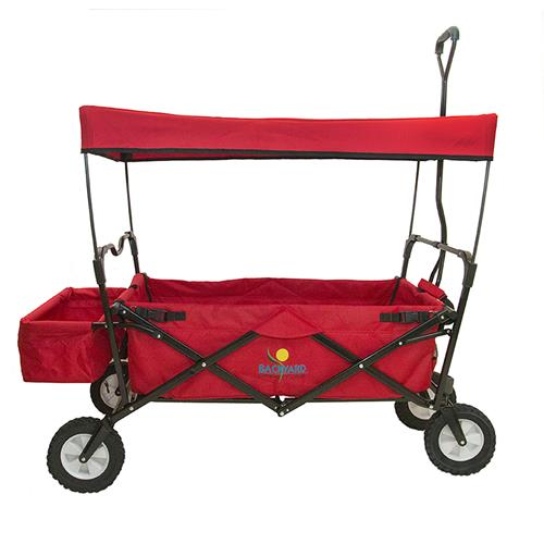 Backyard Lifestyles Folding Wagon – Red