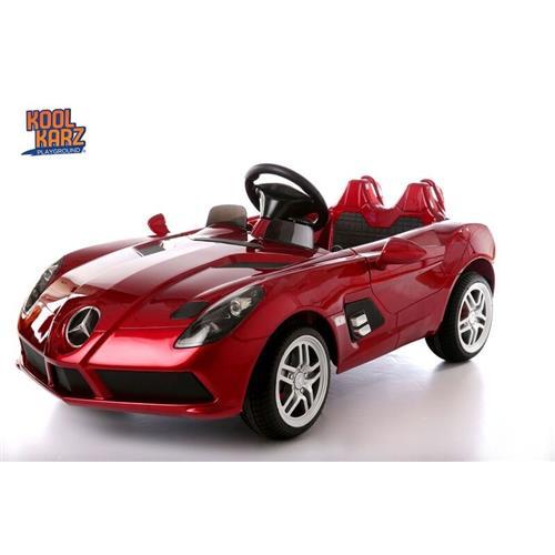 10% off- Kool Karz® Mercedes Benz SLR AMG Electric Ride-On Toy Car - Red