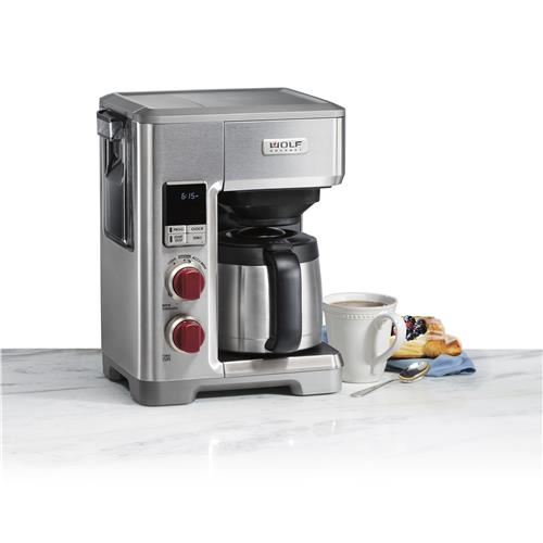 Wolf Gourmet 10-Cup Programmable Coffee Maker