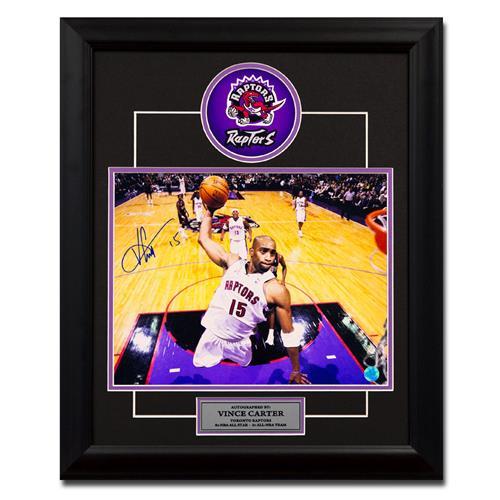 A.J Sportsworld Vince Carter Toronto Raptors Autographed Frame