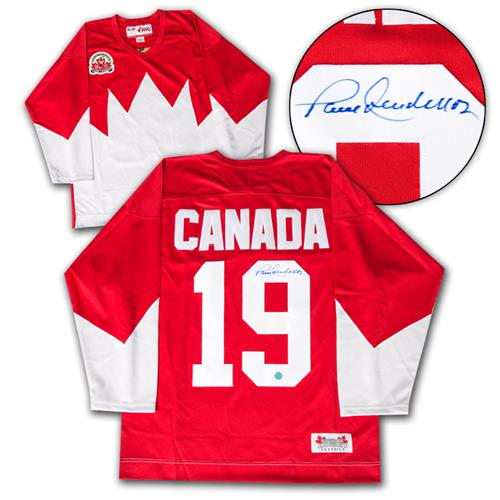 A.J. Sports World Paul Henderson Autographed Team Canada 1972 Summit Series Hockey Jersey