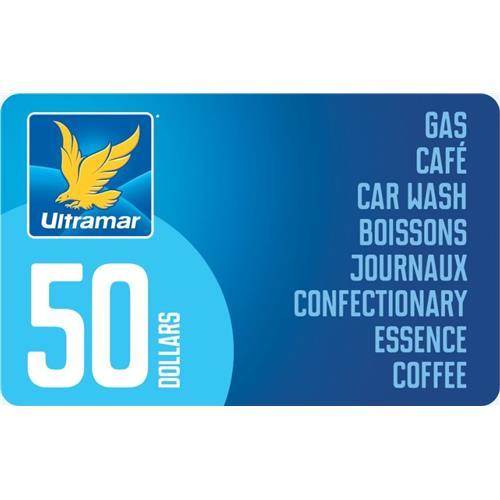 Ultramar Carte-cadeau 50 $