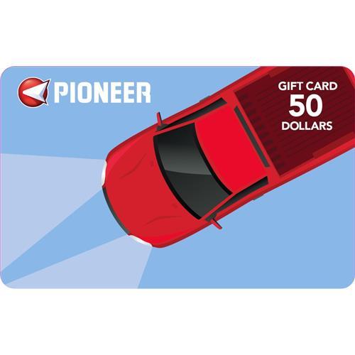 Pioneer Gift Card