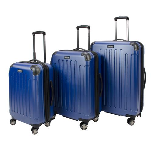 Ensemble de 3 valises Renegade de Kenneth Cole (cobalt)