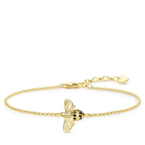 Thomas Sabo® Sterling Silver Bumble Bee Glam & Soul Bracelet