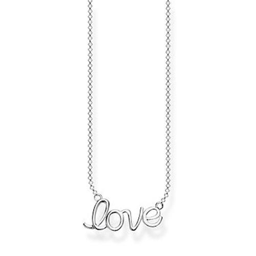Thomas Sabo® Sterling Silver Love Glam & Soul Necklace