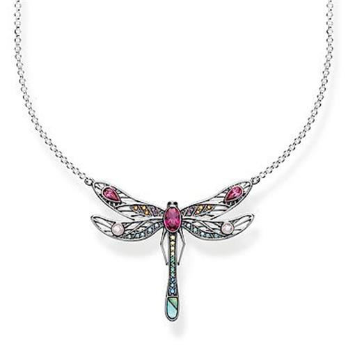 Thomas Sabo® Sterling Silver Dragonfly Glam & Soul Necklace