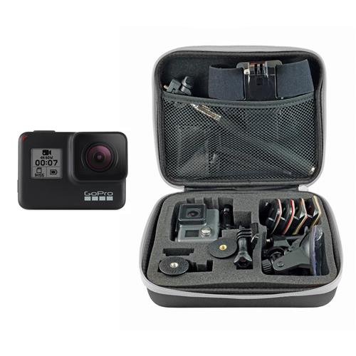 GoPro® Hero7 with Optex 13-Piece Accessories Kit - Black