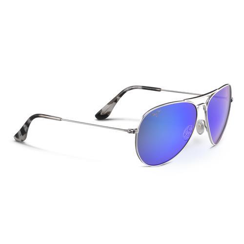 Maui Jim® Mavericks Sunglasses - Silver/Blue