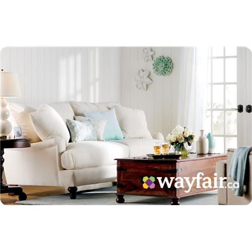 Wayfair.ca $100 Gift Card
