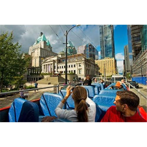 Westcoast Sightseeing Vancouver Hop-On, Hop-Off, 24-hour Sightseeing Tour - Adult