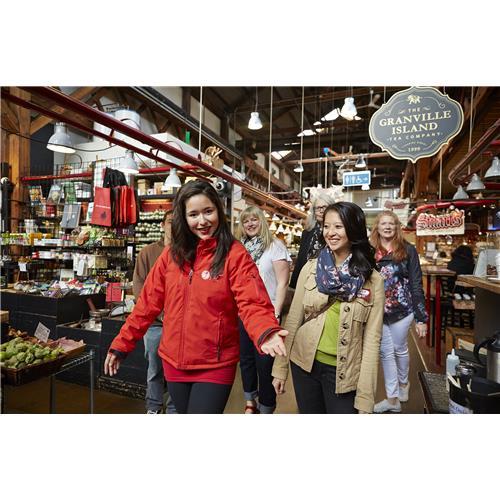 Visite gastronomique du marché de Granville Island par Vancouver Foodie Tours