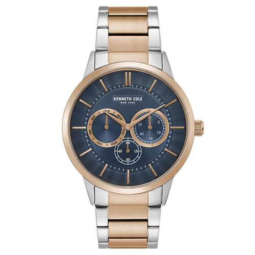 Kenneth Cole Two-Tone Multi-Function Watch - Men's