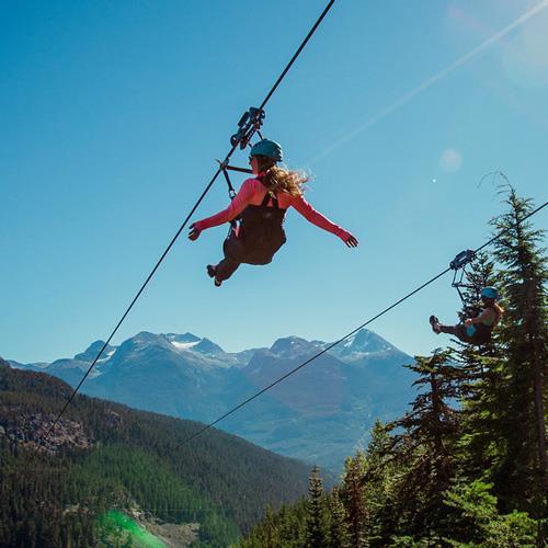 Breakaway Experiences Whistler Zipline - Summer