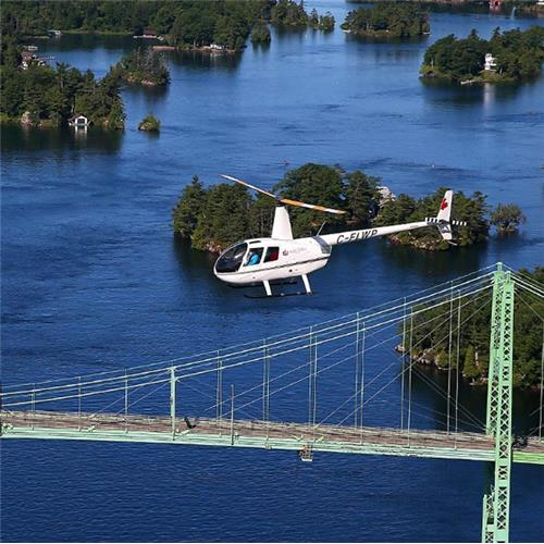 Breakaway Experiences 1000 Islands Helicopter Tour (Canadian Signature Experience)