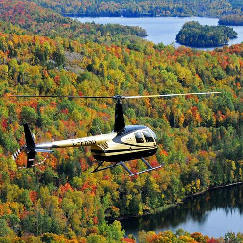 Breakaway Experiences Mont-Tremblant Fly a Helicopter Experience