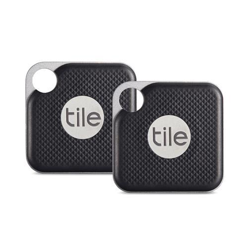 Tile Pro Bluetooth® Item Tracker - 2 Pack – Black 10,200 Points
