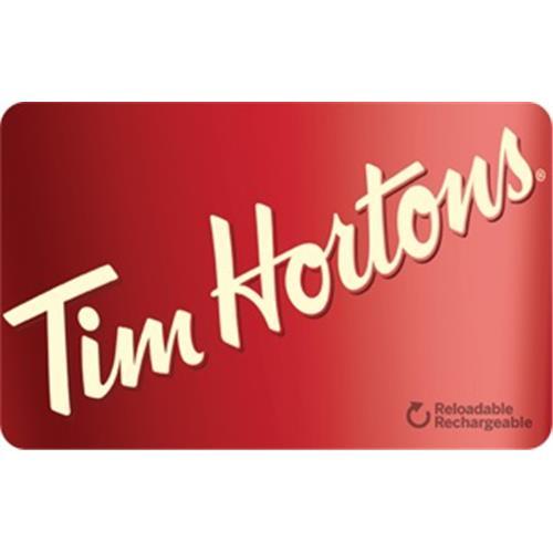 Carte-Cadeau Tim Hortons 50 $