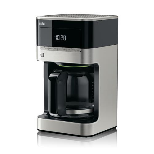 Braun BrewSense 12-Cup Drip Coffee Maker – Black/Stainless