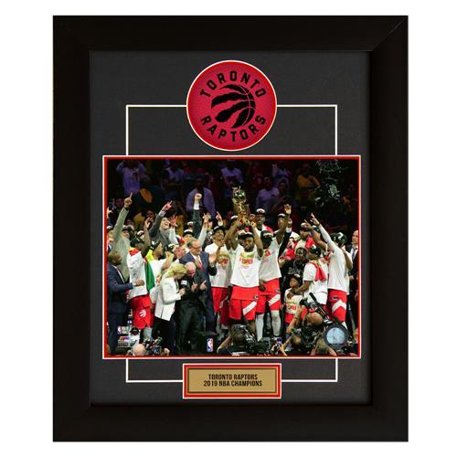 A.J. Sports World Toronto Raptors 2019 NBA Champions Team Frame