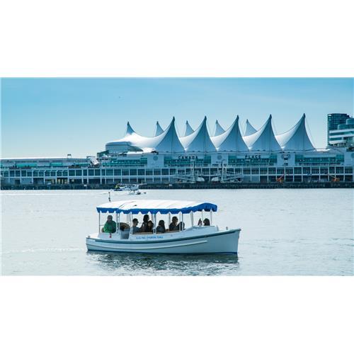 Excursion en bateau électrique à Vancouver avec Electric Harbour Tour — tout âge