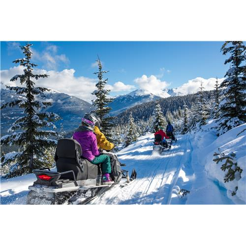 Fresh Tracks Beginner Snowmobiling Adventure - Adult - Whistler, BC
