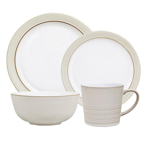 Denby Natural Canvas 16-Piece Dinnerware Set