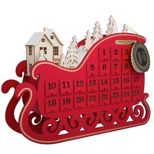 FAO Schwarz Advent Calendar Sleigh